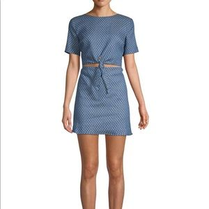 NWT Lucca Couture Kennedi Front-Tie Dress